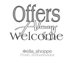 Offer's Welcome!
